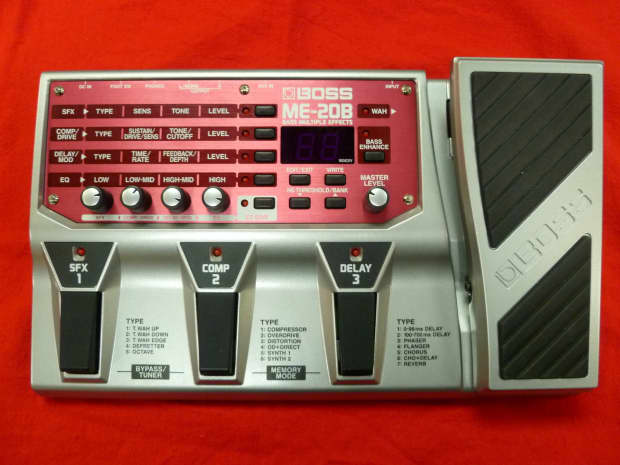 boss me 25 guitar multi effects pedal manual
