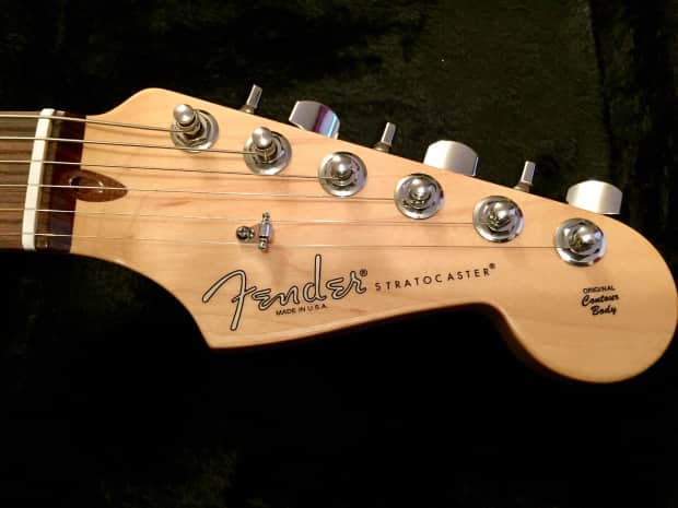 Sold - 2013 Fender American Standard Stratocaster Olympic