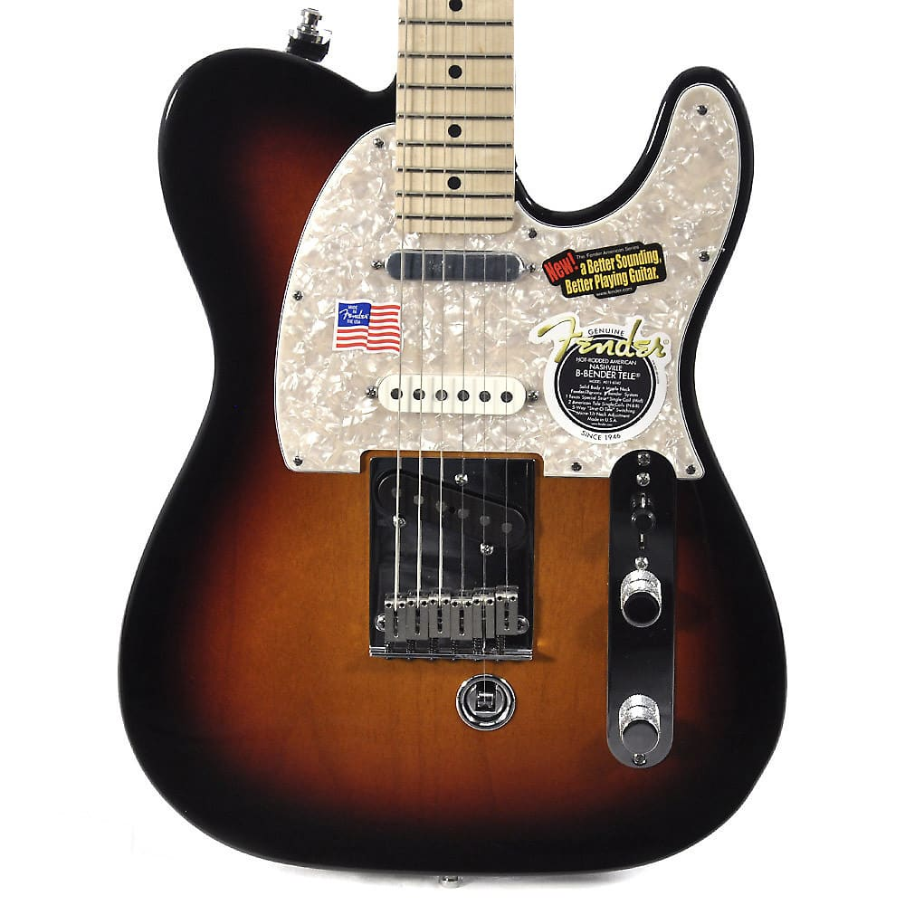 fender american nashville b bender telecaster three tone reverb. Black Bedroom Furniture Sets. Home Design Ideas