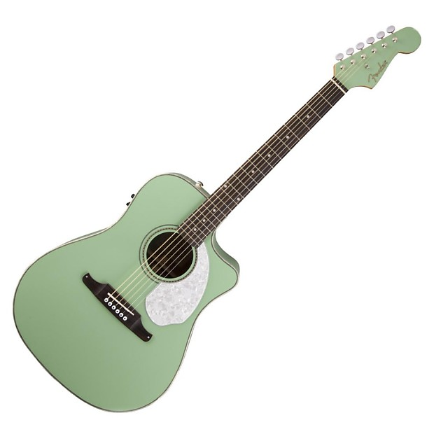 Green Fender Electric Guitar : fender sonoran sce electric acoustic guitar surf green reverb ~ Hamham.info Haus und Dekorationen