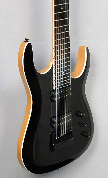 halo custom guitars merus 8 string guitar evertune reverb. Black Bedroom Furniture Sets. Home Design Ideas