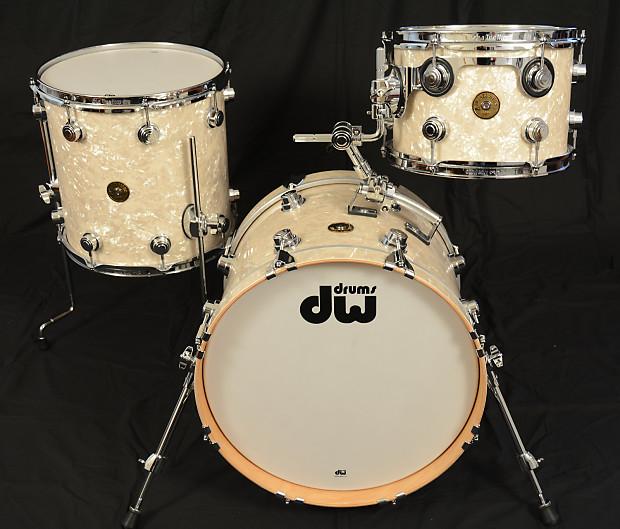 dw jazz series maple gum kit 18 12 14 vintage marine pearl reverb. Black Bedroom Furniture Sets. Home Design Ideas