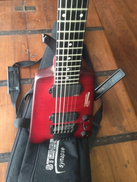 Steinberger Synapse 2007 Red Reverb