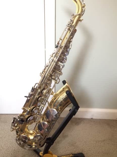 Yamaha yas 200ad advantage student alto saxophone reverb for Yamaha student saxophone