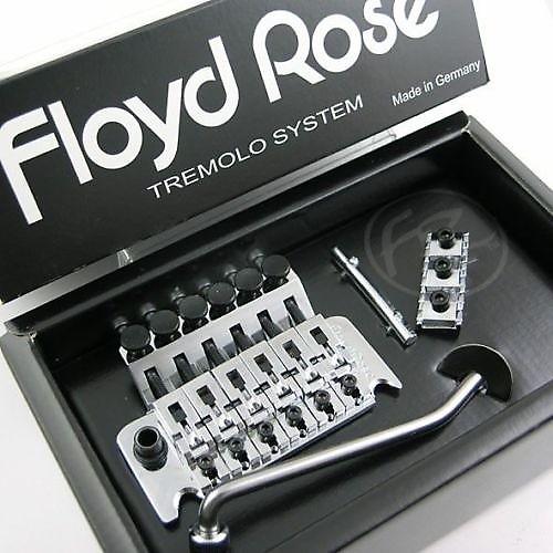 floyd rose original tremolo chrome w locknut r2 or r3 german reverb. Black Bedroom Furniture Sets. Home Design Ideas