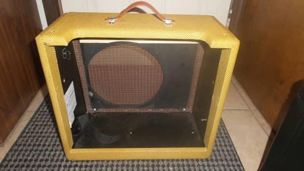 Fender Blues Junior Tweed Cabinet Reverb