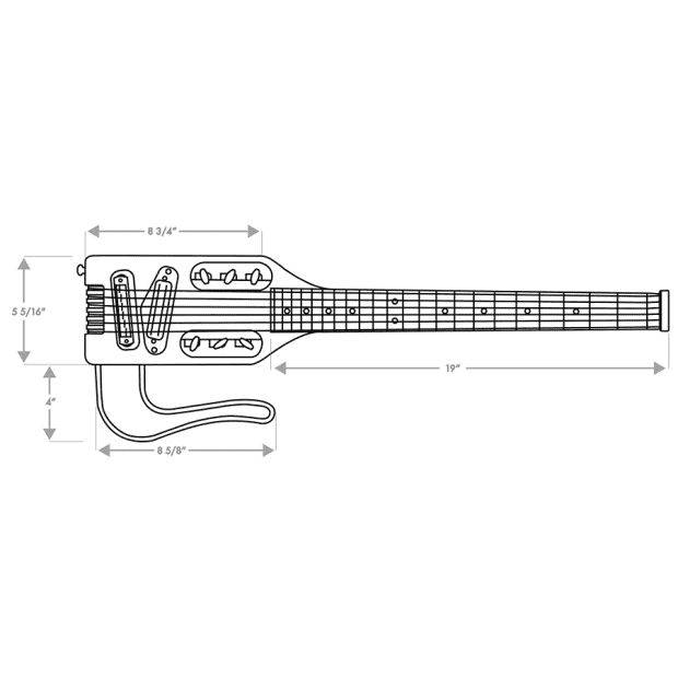 traveler ultra light electric 6 string electric travel guitar reverb. Black Bedroom Furniture Sets. Home Design Ideas