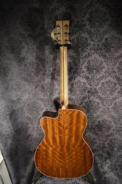 martin custom shop acoustic electric guitar ovangkol reverb. Black Bedroom Furniture Sets. Home Design Ideas