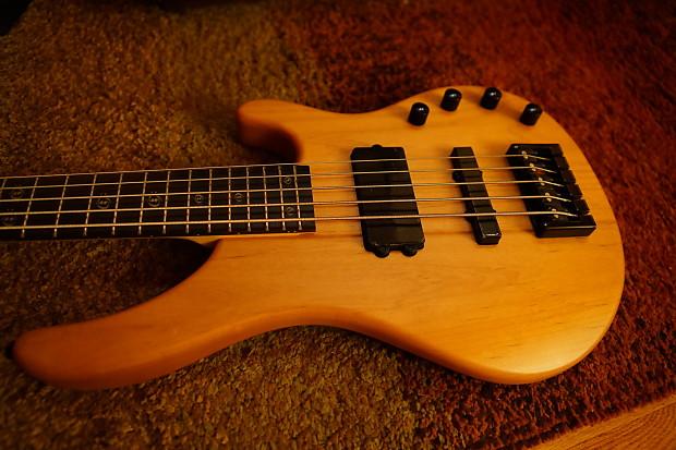 washburn the hammer stu hamm shb 65 5 string bass natural reverb. Black Bedroom Furniture Sets. Home Design Ideas