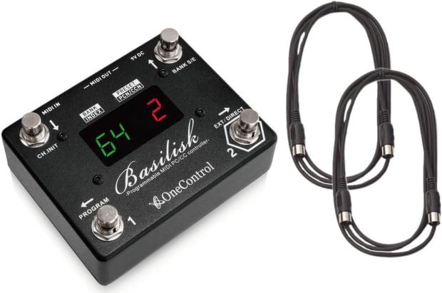 One Control Basilisk Programmable Midi Controller W 2