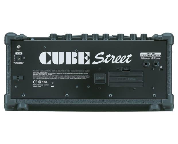 roland cube street 2 channel amplifier battery powered guitar reverb. Black Bedroom Furniture Sets. Home Design Ideas