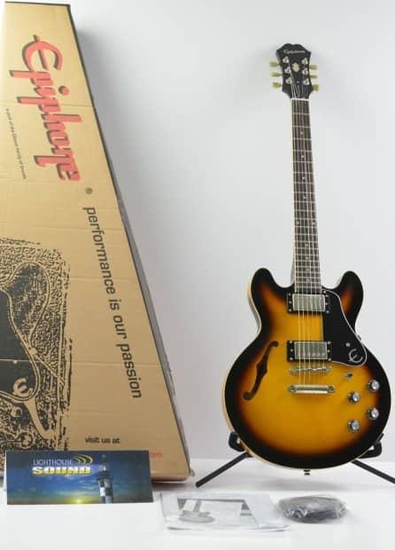 epiphone ultra es 339 electric guitar usb in box vintage reverb. Black Bedroom Furniture Sets. Home Design Ideas