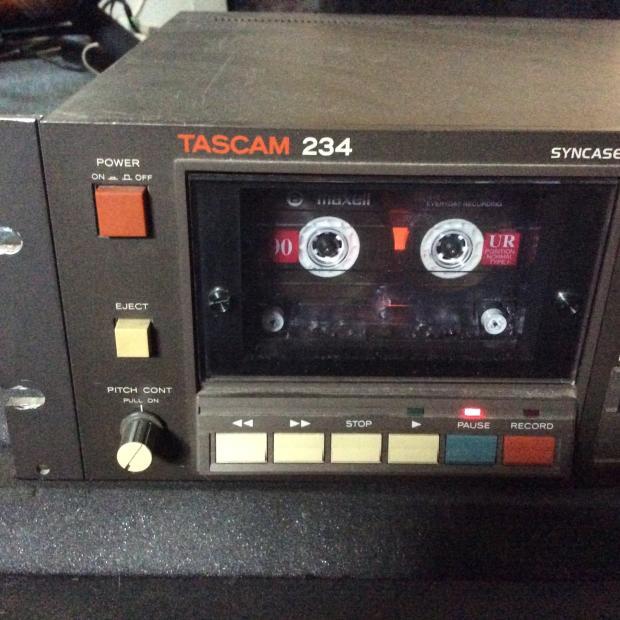 tascam 234 cassette multi track recorder w dbx reverb. Black Bedroom Furniture Sets. Home Design Ideas