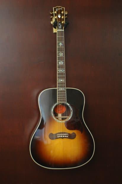 Rj Auto Sales >> Gibson Custom Shop Mystic Orpheum Songwriter Acoustic ...