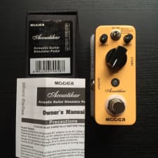 Mooer Audio Acoustikar Acoustic Guitar Simulator Pedal image
