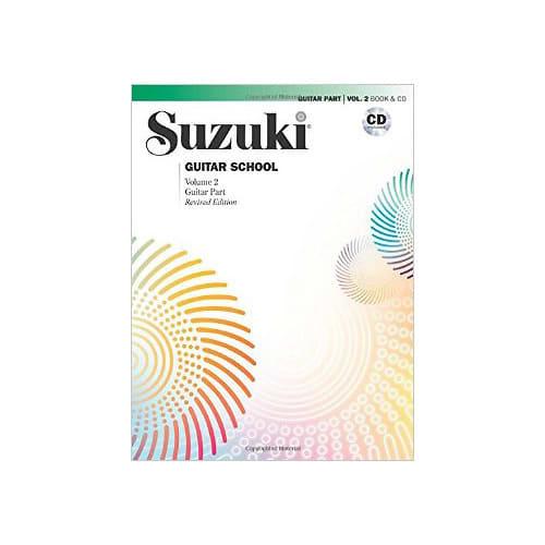 Suzuki Guitar School Vol  Guitar Part Book And Cd