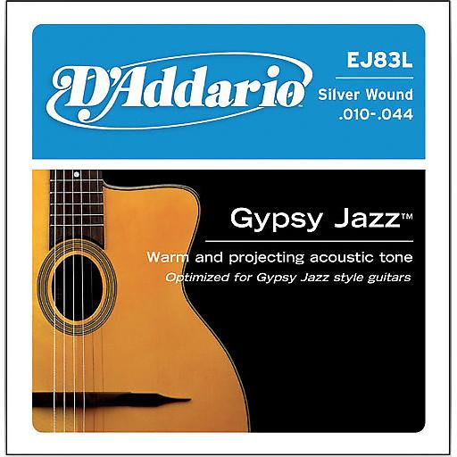 D Addario Gypsy Jazz Acoustic Guitar Strings : d 39 addario ej83l gypsy jazz silver wound ball end light 10 44 reverb ~ Vivirlamusica.com Haus und Dekorationen