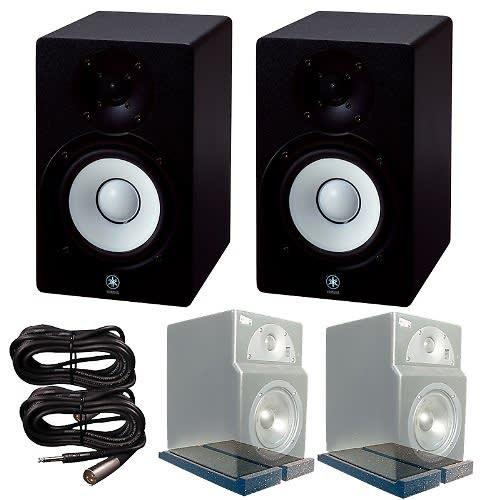 Yamaha hs8 active monitors primacoustic isopads trs xlr for Yamaha hs8 price