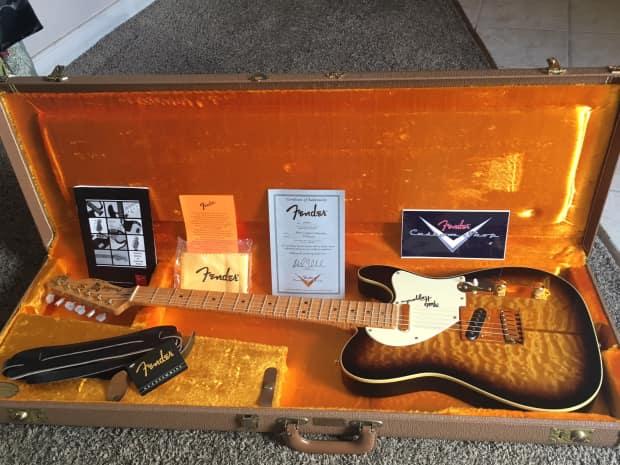 Fender Merle Haggard Tuff Dog Tele 90 s Sunburst
