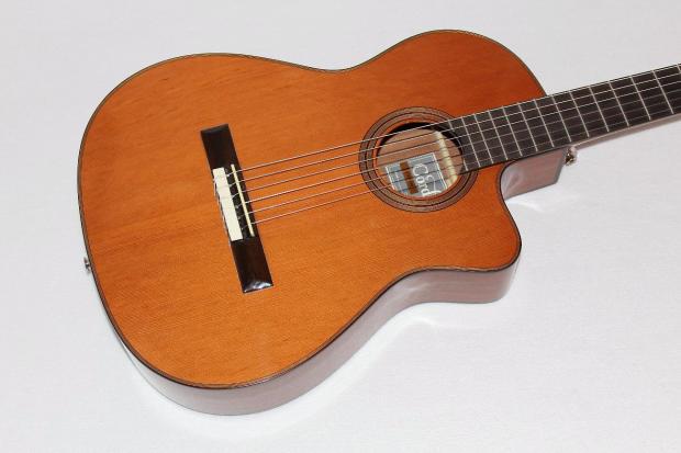 cordoba fusion 12 natural hybrid nylon string acoustic electric classical guitar reverb. Black Bedroom Furniture Sets. Home Design Ideas