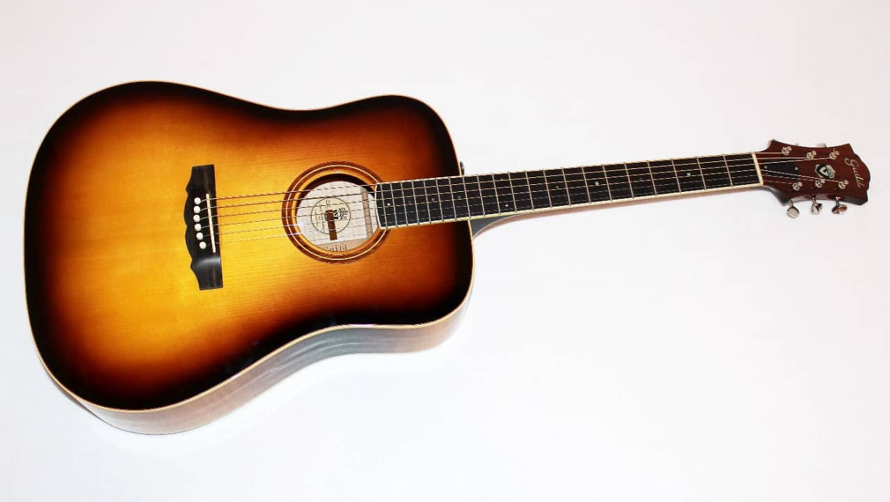 guild cd 2 usa made dreadnought acoustic guitar w case reverb. Black Bedroom Furniture Sets. Home Design Ideas