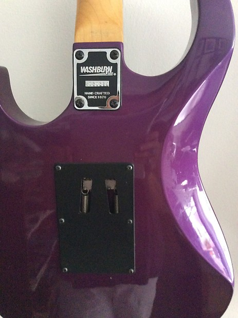 Washburn Mg 42 1993 Metallic Purple Electric Guitar Reverb