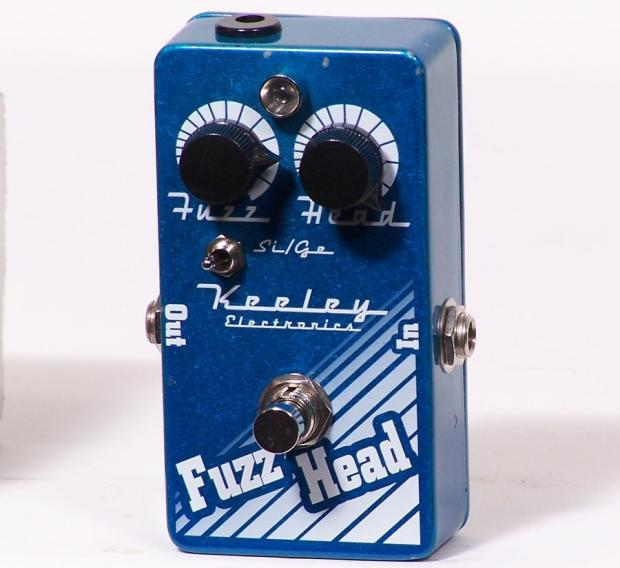 keeley electronics fuzz head guitar effects pedal made in usa in box reverb. Black Bedroom Furniture Sets. Home Design Ideas