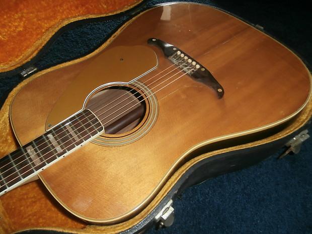 vintage 1969 fender kingman acoustic guitar w case reverb. Black Bedroom Furniture Sets. Home Design Ideas
