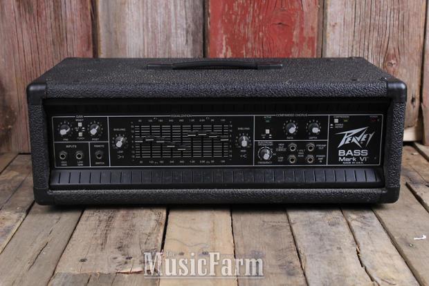 peavey bass mark vi electric bass guitar amplifier 400 watt amp head made in usa reverb. Black Bedroom Furniture Sets. Home Design Ideas