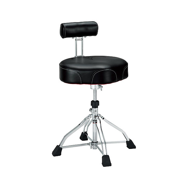 Tama Ht741b 1st Chair Ergo Rider Drum Throne With Back