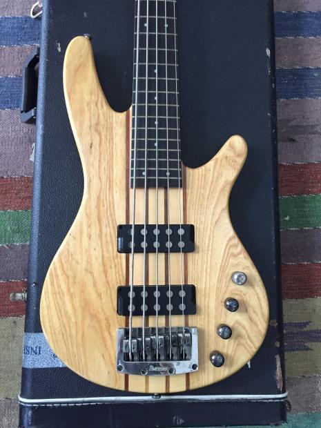 ibanez soundgear sdgr 5 string bass natural reverb. Black Bedroom Furniture Sets. Home Design Ideas