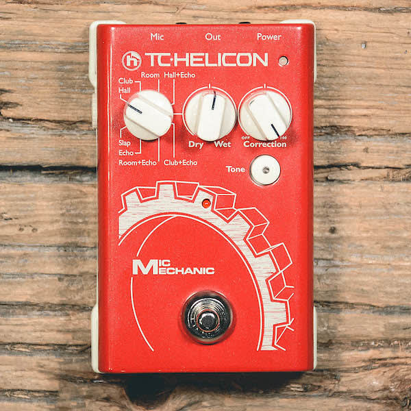 tc helicon mic mechanic reverb. Black Bedroom Furniture Sets. Home Design Ideas