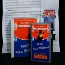 BSM FuzzBender Fuzz Machine s/n 2807 First Version made in Germany image