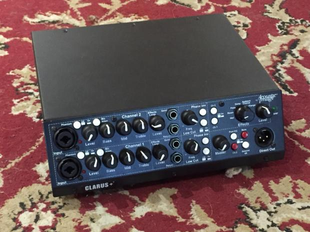 acoustic imaging clarus bass amp head 2r great for clean jazz guitar tones too reverb. Black Bedroom Furniture Sets. Home Design Ideas