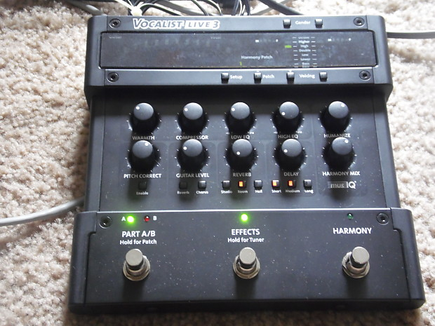 digitech vocalist live 3 owners manual