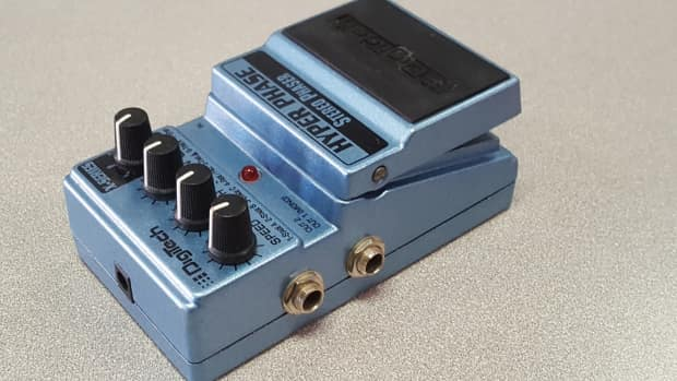 digitech hyper phase stereo phaser guitar pedal reverb. Black Bedroom Furniture Sets. Home Design Ideas