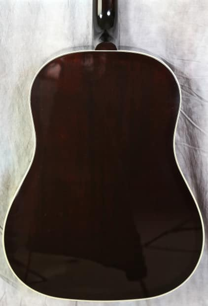 Woody Guthrie 100 >> Gibson Montana Woody Guthrie Southern Jumbo 2011 Aged Vintage   Reverb