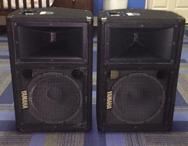 2 yamaha sm12v monitors reverb for Yamaha collinsville il