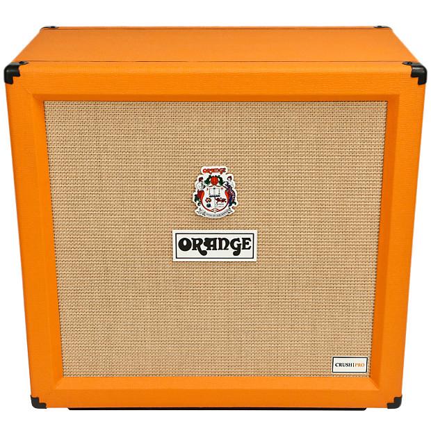 orange crush pro 4x12 guitar speaker cabinet 240 watts reverb. Black Bedroom Furniture Sets. Home Design Ideas