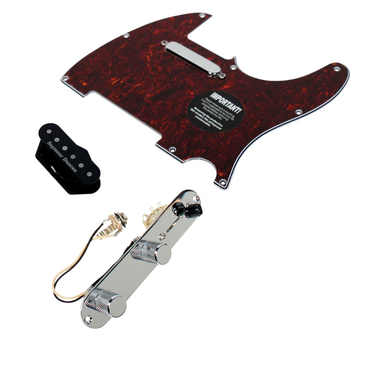 fender tele telecaster loaded pickguard seymour duncan hot reverb. Black Bedroom Furniture Sets. Home Design Ideas