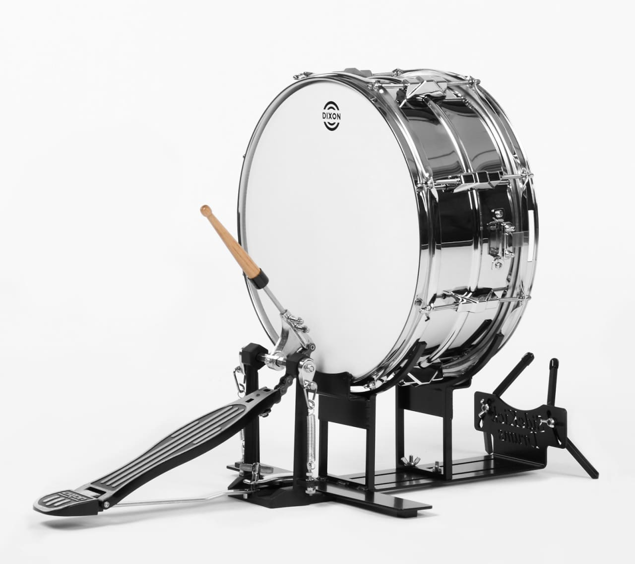 Foot Operated Snare Drum Kit By Side Kick Drums | Reverb