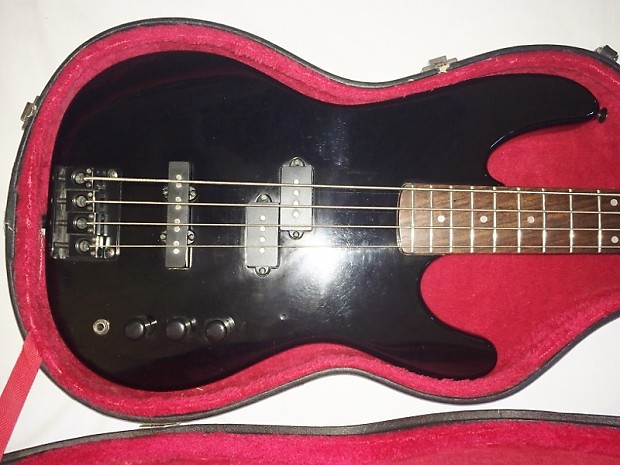 gibson epiphone power bass 1992 black reverb. Black Bedroom Furniture Sets. Home Design Ideas