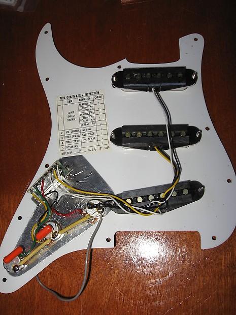 Petes Auto Parts >> 1997 Fender MIM Mexican Squire Strat | Reverb