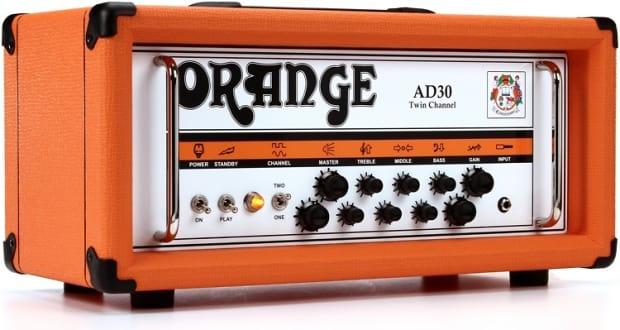 orange ad30htc 30 watt twin channel guitar amp head 2 day reverb. Black Bedroom Furniture Sets. Home Design Ideas