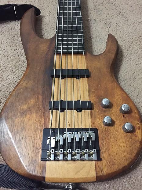 carvin lb76 1993 usa 6 string electric bass guitar reverb. Black Bedroom Furniture Sets. Home Design Ideas