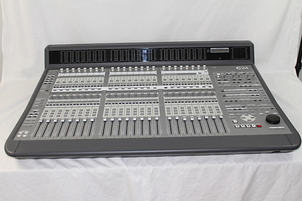 avid c24 control surface analog mixing console great reverb. Black Bedroom Furniture Sets. Home Design Ideas