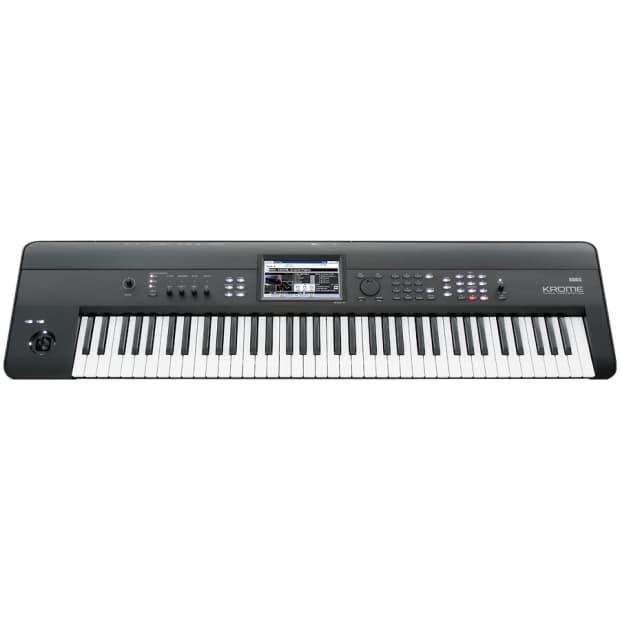 korg krome 88 88 key music workstation keyboard reverb. Black Bedroom Furniture Sets. Home Design Ideas
