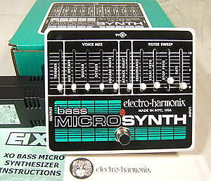 electro harmonix bass microsynth synthesizer pedal reverb. Black Bedroom Furniture Sets. Home Design Ideas