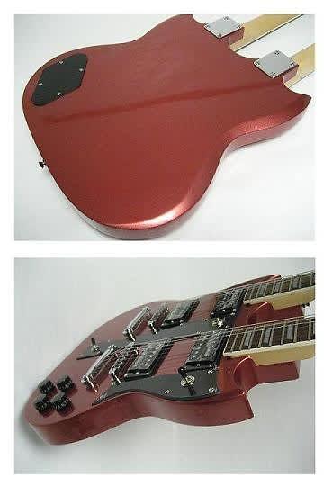 ktone 6 12 string electric double neck guitar reverb. Black Bedroom Furniture Sets. Home Design Ideas
