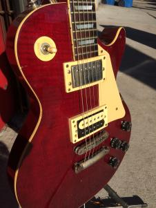 1970's Univox Les Paul Deluxe 1970's Red image